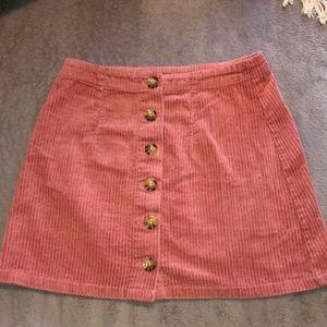 Pink Mini Skirt!